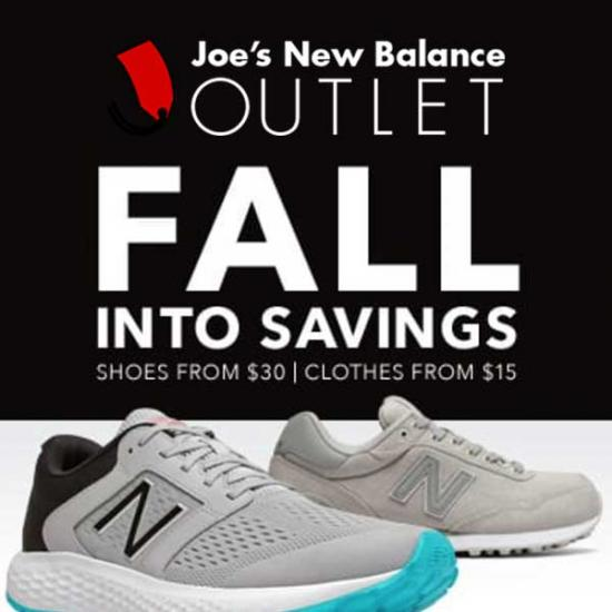 New Balance Outlet: Discounts on Clothing & Footwear