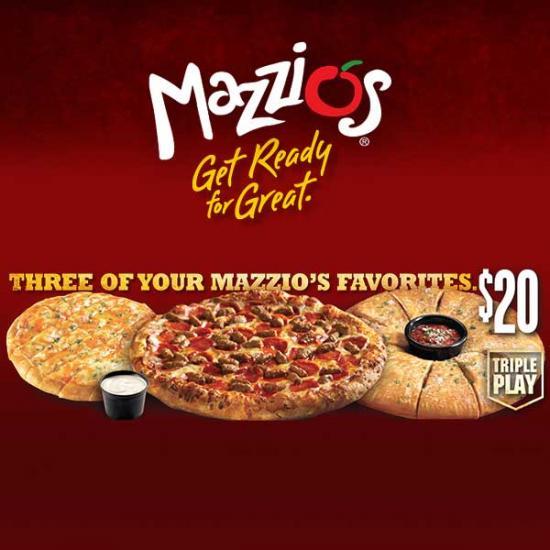 Save with Mazzios discounts