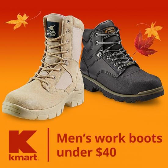 Men's Work Boots Under $40 | Senior