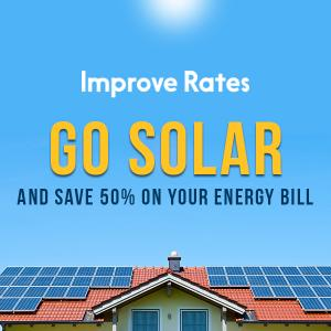 Go Solar And Save 50% on Your Energy Bill