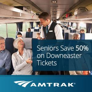 50% Off Downeaster Tickets for Seniors