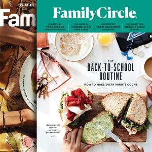 Family Circle Magazine 1-Year Subscription 88% Off