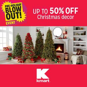 Up to 50% Off Christmas Decor in Black Friday Now Event