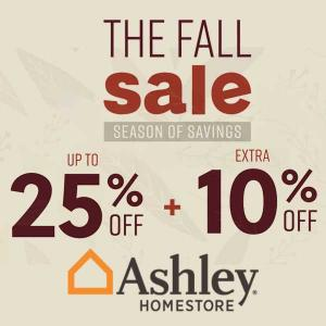 Up to 25% Off in Fall Sale + Extra 10% Off w/ Code