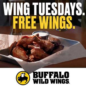 Buy 1, Get 1 Free Traditional Wings