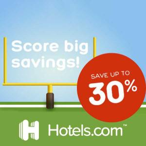 Up to 30% Hotel Savings