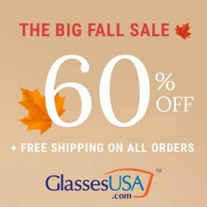60% Off + Free Shipping On All Orders
