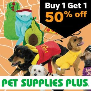 BOGO 50% Off Halloween Pet Apparel and Accessories