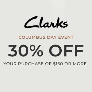 Columbus Day Sale: 30% Off $150 or More with Code