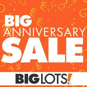 Up to $300 Off Big Lots Anniversary Sale