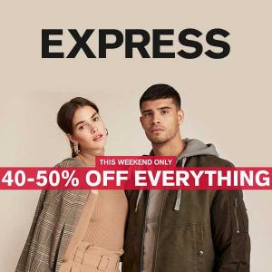 Up to 50% Off Everything in Stores and Online