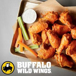 Buy 1, Get 1 Free Wings on Tuesdays