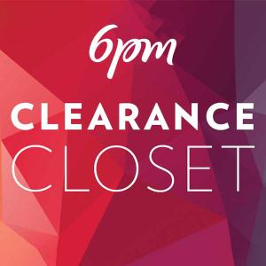 70% or More Off in Closet Clearance Event