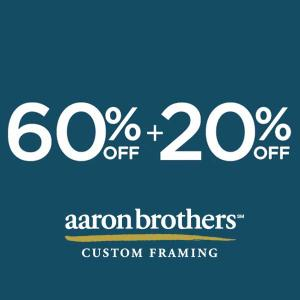 60 Off + Extra 20% Off All Custom Frame Collections