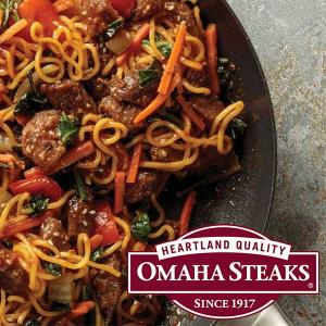 67% Off Omaha Steak Asian-Style Beef and Noodles