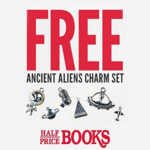 Free Ancient Aliens Silver Charm Set