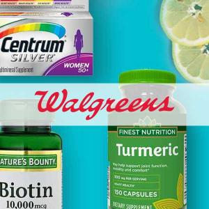 BOGO Free or BOGO 50% Off Vitamins & Supplements