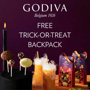 Free Trick-or-Treat Backpack w/ Any $50 or More Order