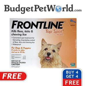 Buy 4, Get 4 Free Frontline Doses