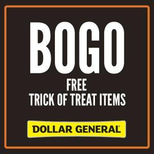 BOGO Free Trick or Treat Item