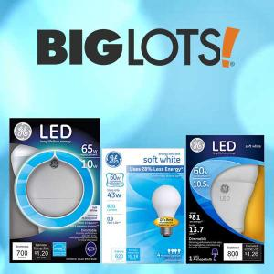 BOGO 50% Off GE Light Bulbs