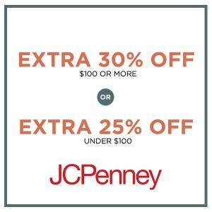Extra 30% Off $100 or Extra 25% Off Under $100
