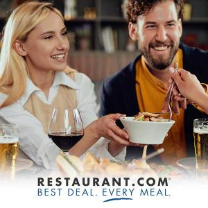 Only $15 for 3 $25 Worth Restaurant.com Physical Cards