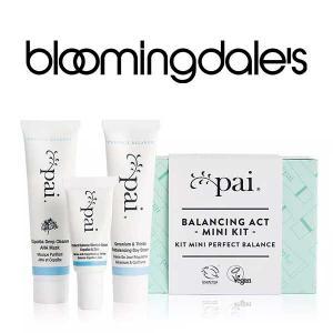 Free Mini Skincare Kit with Any $60 Pai Skincare Purchase