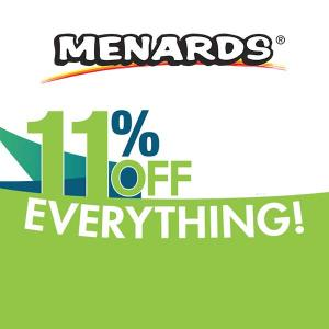 ENDS 10/19: 11% Off Everything