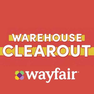 50% Off Everything in Warehouse Clearout Sale