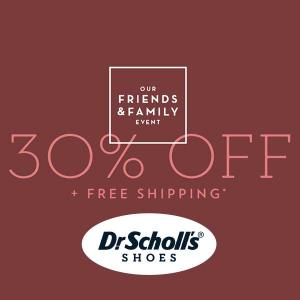 30% Off Footwear With Code + Free Shipping
