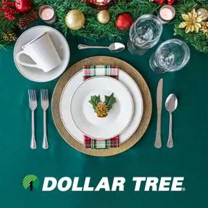 $1 Dinnerware