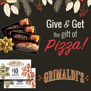 Buy a Gift Card, Get a Free Bonus Card