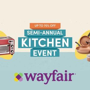 Up to 70% Off Semi-Annual Kitchen Event