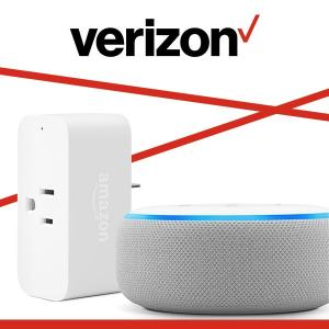 Get Echo Dot and Amazon Smart Plug With A New Smartphone and Unlimited