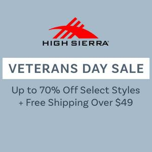 Up to 70% Off Select Styles + Free Shipping Over $49