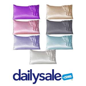 59% Off 100% Silk Pillow Cover with Trim