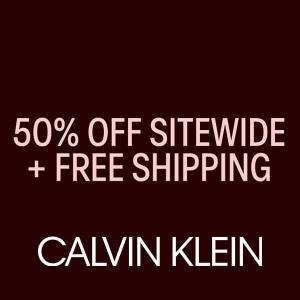 50% Off Sitewide + Extra 25% Off + Free Shipping