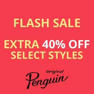 Extra 40% Off Men's Select Styles