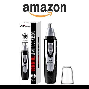 5% Off Ear and Nose Hair Trimmer Clipper