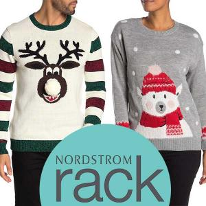 Up to 50% Off Fun Festive Ugly Sweaters & Accessories