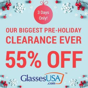 55% Off on Clearance Sale + Free Lens w/ Code