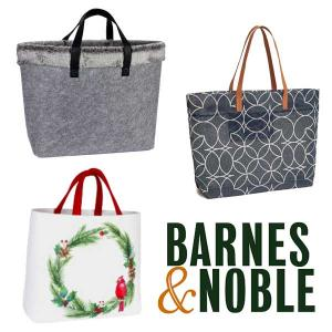 $12.99 Only  B&N Exclusive Holiday Totes