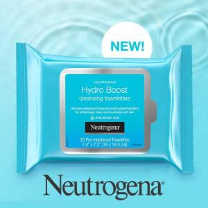 Free Hydro Boost Facial Cleansing Wipes w/ Hyaluronic Acid