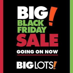 Big Black Friday Sale at Big Lots