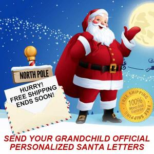 20% Off for Letters From Santa + Free Shipping & Bonus Gift