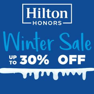 Up to 30% Off Winter Sale