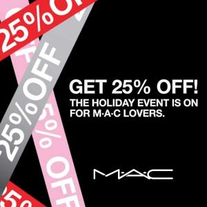 Up to 25% Off in Holiday Event