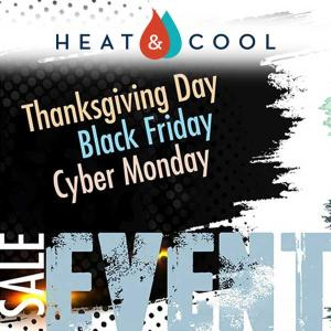 Thanksgiving, Black Friday and Cyber Monday Sale Event