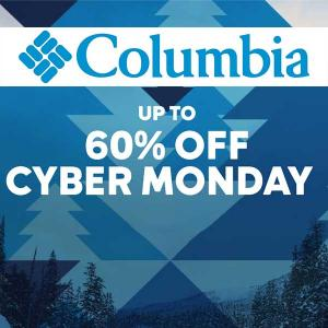 Up to 60% Off Cyber Monday
